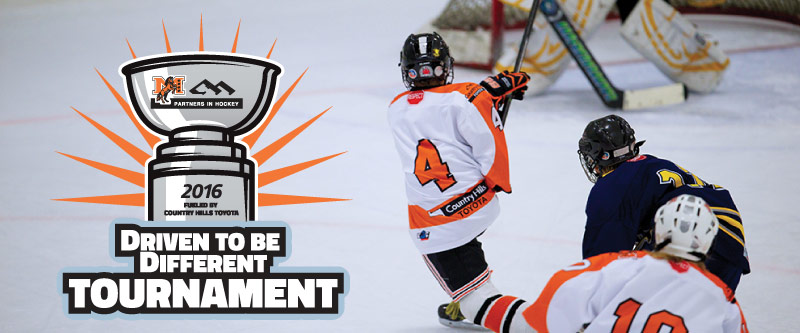 Driven to be Different Hockey Tournament