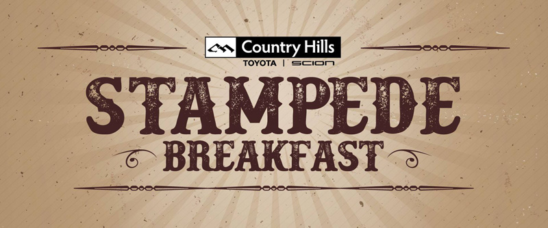 Country Hills Toyota Stampede Breakfast