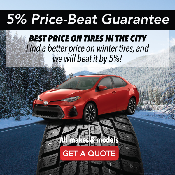 The right tire at the right price.